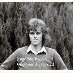 Jeugdfoto Jacob Veld gemaakt Brabantselaan Stadskanaal